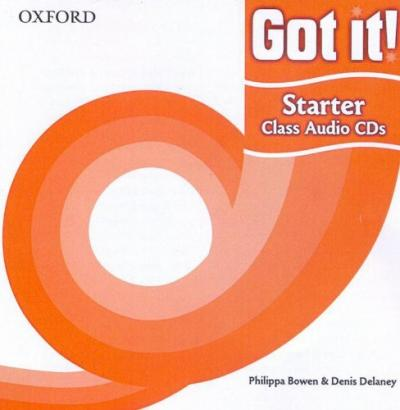 Got it!: Starter Level: Class Audio CDs