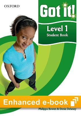 Got it!: Level 1: Student e-Book - Buy Codes for Institutions