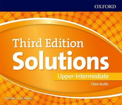 Solutions: Upper-Intermediate: Class Audio CDs