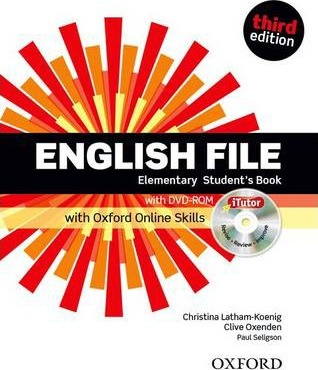 English File third edition: Elementary: Student's Book with iTutor and Online Skills