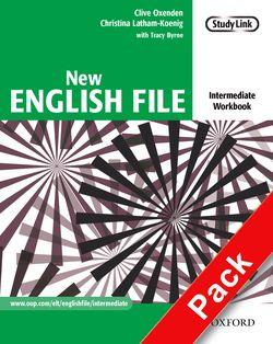 New English File: Intermediate: Workbook with MultiROM Pack
