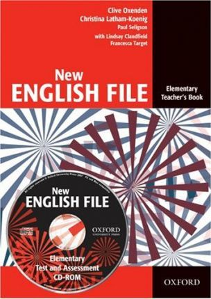 New English File: Elementary: Teacher's Book with Test and Assessment CD-ROM : Six-level general English course for adults