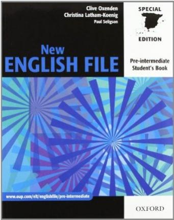 New english file Pre-Intermediate Pack without Key