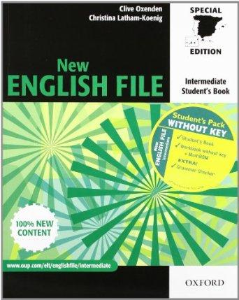 New english file intermediate Pack without key