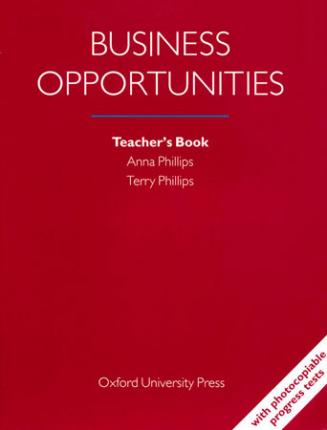 Business Opportunities: Teacher's Book