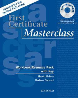 First Certificate Masterclass:: Workbook Resource Pack with Key