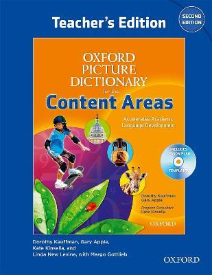 Oxford Picture Dictionary for the Content Areas: Teacher's Book and Audio CD Pack