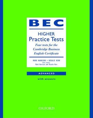 BEC Practice Tests Higher: Book with Answers