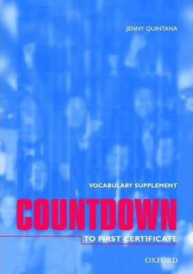 Countdown to First Certificate: Vocabulary Supplement
