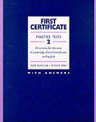First Certificate Practice Tests 2: Book (with Answers) Bk.2