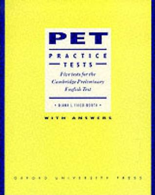 PET Practice Tests: Student's Book (With Key)