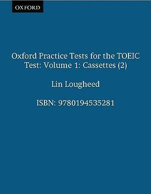 Oxford Practice Tests for the TOEIC Test: v.1