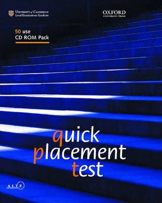 Quick Placement Test: 50 User CD-ROM Pack