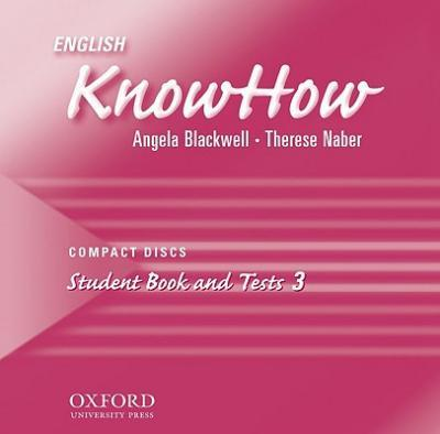 English Knowhow 3: Class Audio CDs