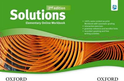 Solutions: Elementary: Online Workbook - Card with Access Code