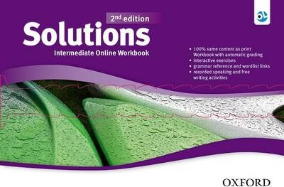 Solutions: Intermediate: Online Workbook - Card with Access Code