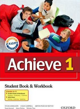 Achieve 1: Combined Student Book, Workbook and Skills Book