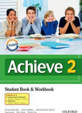 Achieve 2: Combined Student Book, Workbook and Skills Book
