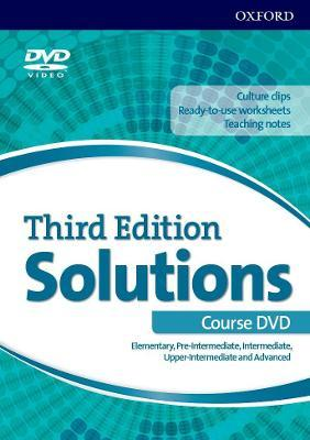 Solutions: Elementary-Advanced (all levels): DVD (Excluding Poland)