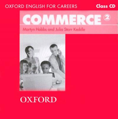 Oxford English for Careers: Commerce 2: Class Audio CD
