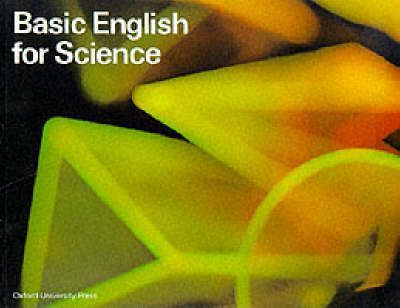 Basic English for Science: Student's Book