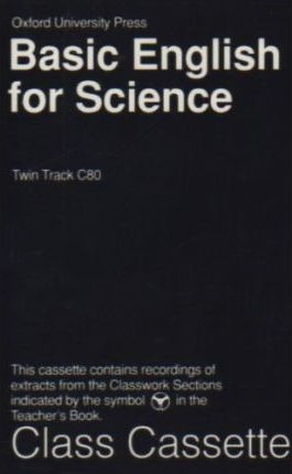 Basic English for Science: Class Cassette