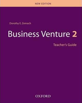 Business Venture: Teacher's Guide Level 2