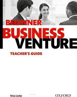Business Venture: Beginner: Teacher's Guide