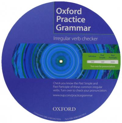 Oxford Practice Grammar: Irregular Verb Spinner Pack