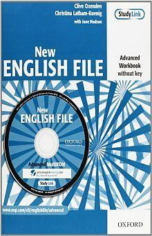 New English File Advanced Workbook (without key) with MultiROM Pack  Six-level general English course for adults