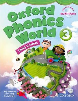 Oxford Phonics World: Level 3: Student Book with MultiROM