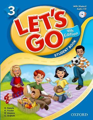 Let's Go: 3: Student Book With Audio CD Pack