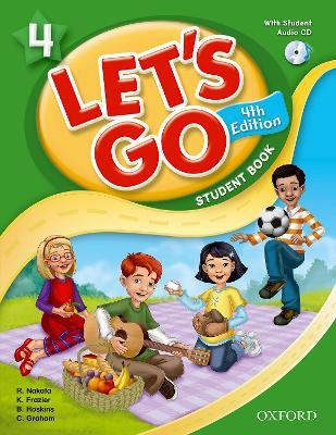 Let's Go: 4: Student Book With Audio CD Pack