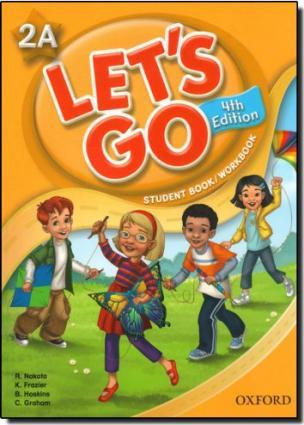 Lets Go Now 2a Student Book/work Book with Multi-rom Pack