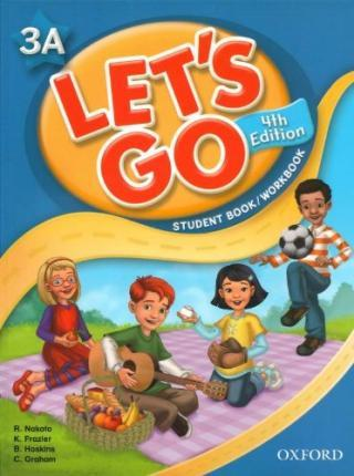 Lets Go Now 3A Student Book/work Book with Multi-ROM Pack