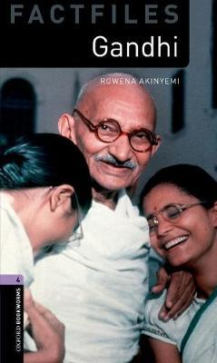Oxford Bookworms Library Factfiles: Level 4:: Gandhi Audio Pack