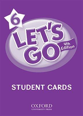 Let's Go: 6: Student Cards