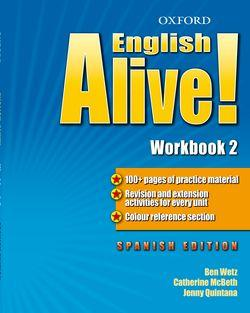 English Alive! 2: Workbook (Spanish)