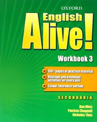 English Alive! 3: Workbook (Catalán)