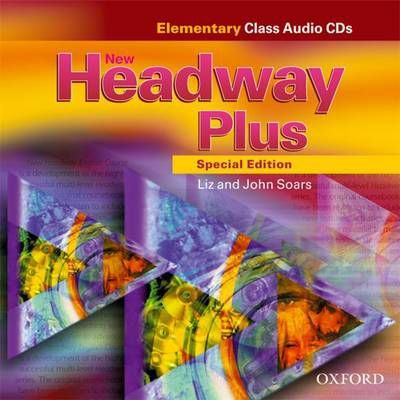 New Headway Plus Special Edition Elementary Class CD (2 Discs)