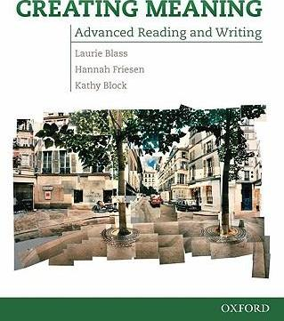 Creating Meaning: Student Book
