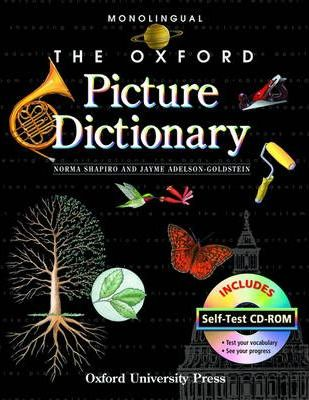 The Oxford Picture Dictionary with Self Test CD-ROM