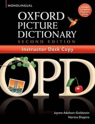 The Oxford Picture Dictionary: Instructors Desk Copy