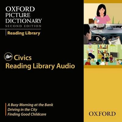 Oxford Picture Dictionary 2nd Edition Reading Library Civics CD
