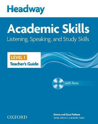 Headway Academic Skills: 1: Listening, Speaking, and Study Skills Teacher's Guide with Tests CD-ROM