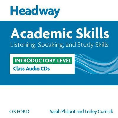 Headway Academic Skills: Introductory: Listening, Speaking, and Study Skills Class Audio CDs (2)