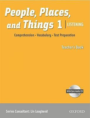People, Places, and Things Listening: Teacher's Book 1 with Audio CD