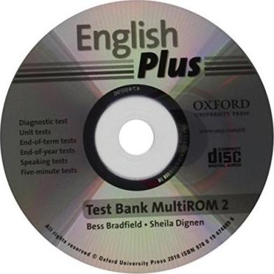 English Plus 2: Test Bank Multi-ROM