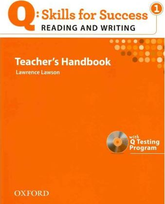 Q Skills for Success: Reading and Writing 1: Teacher's Book with Testing Program CD-ROM