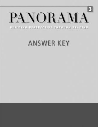 Panorama 3: Answer Key